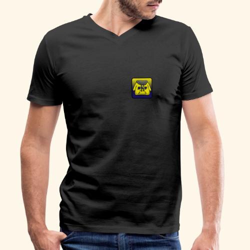 logo evilgrizzly - T-shirt bio col V Stanley & Stella Homme