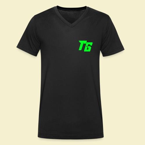 TristanGames logo merchandise - Mannen bio T-shirt met V-hals van Stanley & Stella