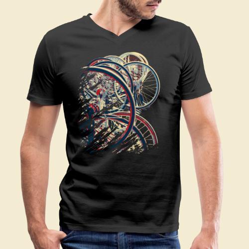 Radball | Cycle Ball Break 1 - Männer Bio-T-Shirt mit V-Ausschnitt von Stanley & Stella