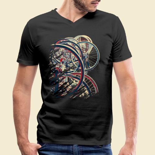 Radball   Cycle Ball Break 1 - Männer Bio-T-Shirt mit V-Ausschnitt von Stanley & Stella