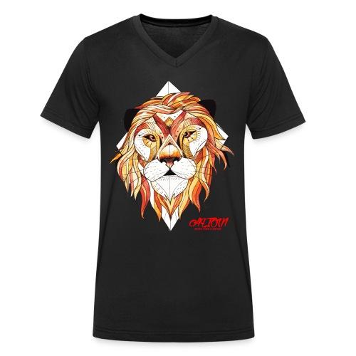 ALION - Mannen bio T-shirt met V-hals van Stanley & Stella