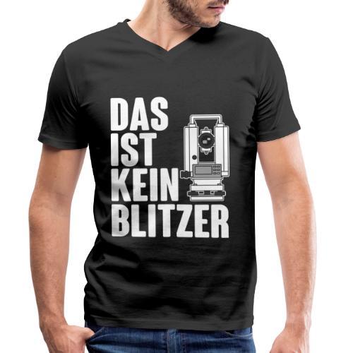 Vermessungstechniker Theodoloit Blitzer Geomatiker - Männer Bio-T-Shirt mit V-Ausschnitt von Stanley & Stella