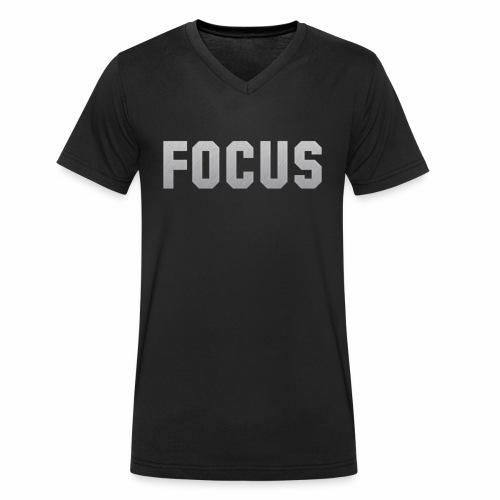 FOCUS - Men's Organic V-Neck T-Shirt by Stanley & Stella