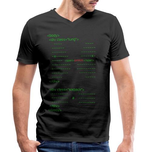 html body - Männer Bio-T-Shirt mit V-Ausschnitt von Stanley & Stella