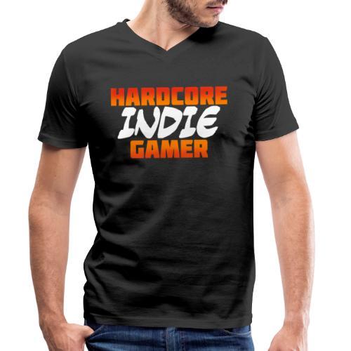 H_rdcore Indie Gamer - Männer Bio-T-Shirt mit V-Ausschnitt von Stanley & Stella