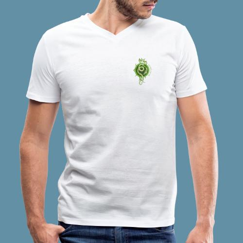 Jormungand logo png - T-shirt ecologica da uomo con scollo a V di Stanley & Stella
