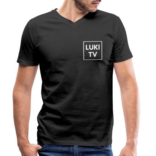 Luki Tv mördch - Männer Bio-T-Shirt mit V-Ausschnitt von Stanley & Stella