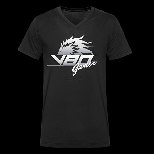 logo lionheartv80 chiaro trasparente - T-shirt ecologica da uomo con scollo a V di Stanley & Stella