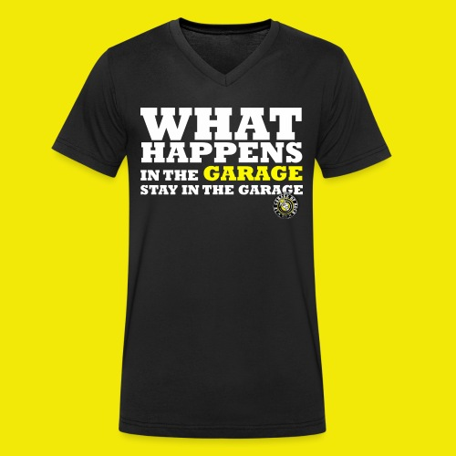 WHAT HAPPENS ! LIMITED EDITION - T-shirt bio col V Stanley & Stella Homme