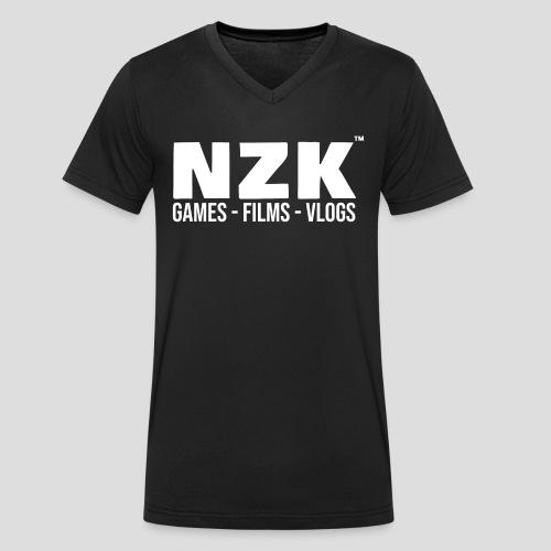 NZK - Mannen bio T-shirt met V-hals van Stanley & Stella