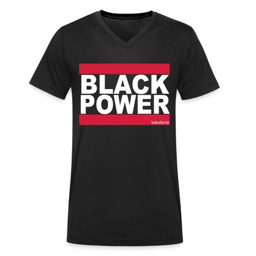 black power - Männer Bio-T-Shirt mit V-Ausschnitt von Stanley & Stella