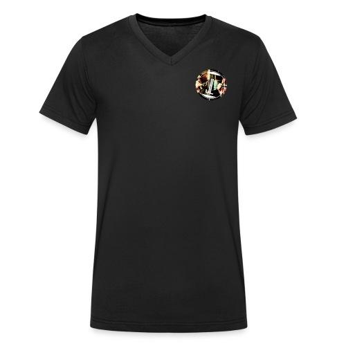 LOGO Jasmin Louis png - Männer Bio-T-Shirt mit V-Ausschnitt von Stanley & Stella
