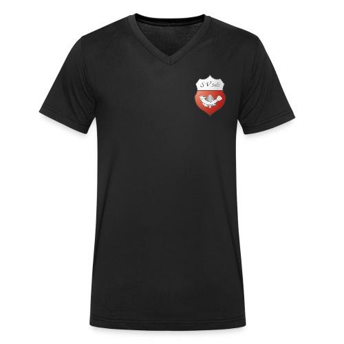 SVS Logo 3D XXL - Männer Bio-T-Shirt mit V-Ausschnitt von Stanley & Stella