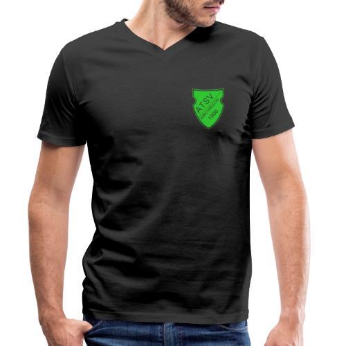 ATSV Wappen - Männer Bio-T-Shirt mit V-Ausschnitt von Stanley & Stella