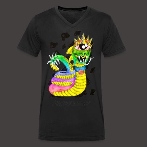 serpentaire multi-color - T-shirt bio col V Stanley & Stella Homme