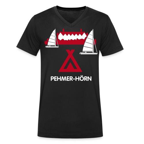 pehmer hoern - Männer Bio-T-Shirt mit V-Ausschnitt von Stanley & Stella