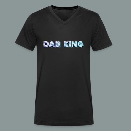Dab King 2 - Männer Bio-T-Shirt mit V-Ausschnitt von Stanley & Stella