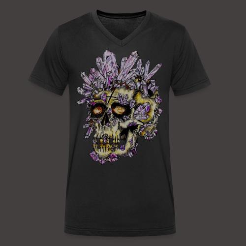 Le Crane de Cristal Creepy - T-shirt bio col V Stanley & Stella Homme