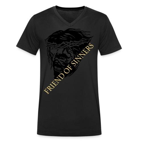 JESUS scream - Männer Bio-T-Shirt mit V-Ausschnitt von Stanley & Stella