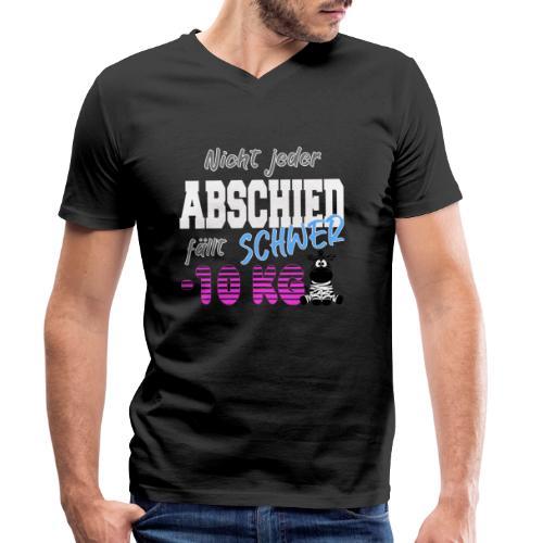 Nicht jeder Abschied faellt schwer 10KG - Männer Bio-T-Shirt mit V-Ausschnitt von Stanley & Stella