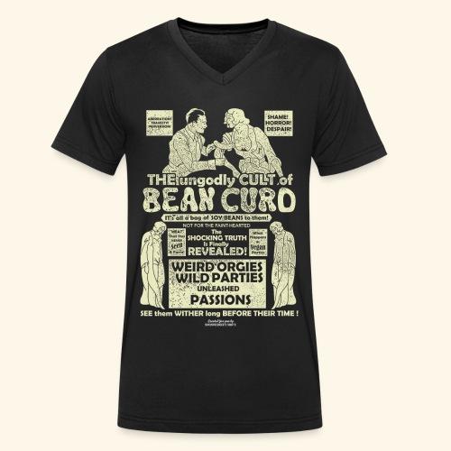 Veggie T Shirt Design Bean Curd Film Poster Spoof - Männer Bio-T-Shirt mit V-Ausschnitt von Stanley & Stella