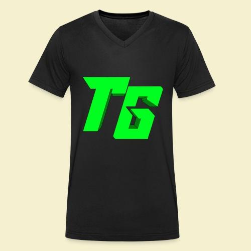 TristanGames logo merchandise [GROOT LOGO] - Mannen bio T-shirt met V-hals van Stanley & Stella