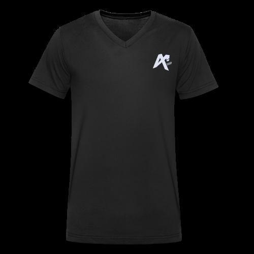 Logo Amigo - Men's Organic V-Neck T-Shirt by Stanley & Stella