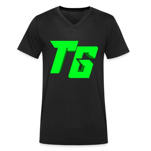 Tristan Jeux marchandises logo [LOGO BIG] - T-shirt bio col V Stanley & Stella Homme