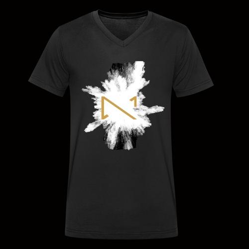 MKS T shirt 2 - Männer Bio-T-Shirt mit V-Ausschnitt von Stanley & Stella