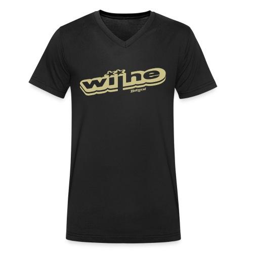 Batzer Salland Series Wijhe - Mannen bio T-shirt met V-hals van Stanley & Stella