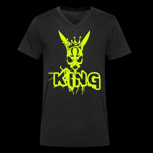 King Rabbit - T-shirt ecologica da uomo con scollo a V di Stanley & Stella
