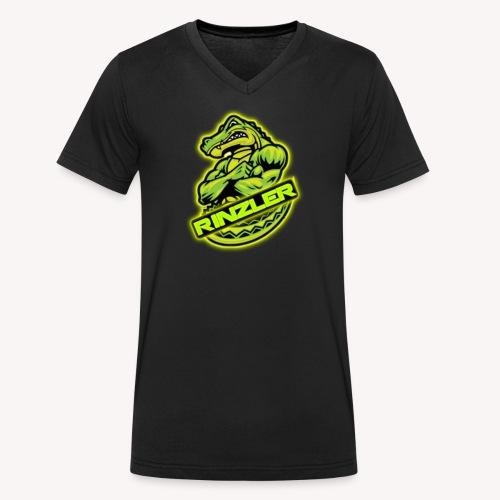 RinzlerVII Logo - Ekologisk T-shirt med V-ringning herr från Stanley & Stella