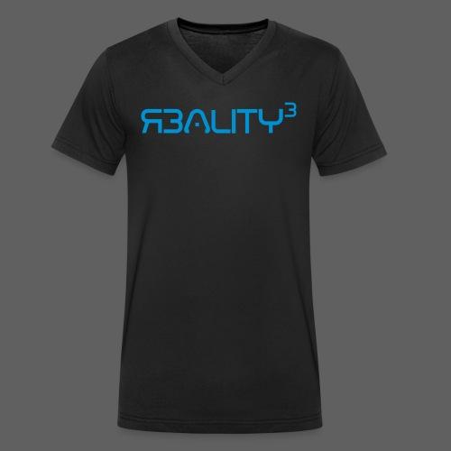 REALITY_3_FipsGFXNEU - Männer Bio-T-Shirt mit V-Ausschnitt von Stanley & Stella