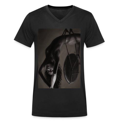 Heavy - Männer Bio-T-Shirt mit V-Ausschnitt von Stanley & Stella