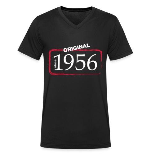 1956 - Männer Bio-T-Shirt mit V-Ausschnitt von Stanley & Stella