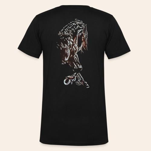 Friese - Männer Bio-T-Shirt mit V-Ausschnitt von Stanley & Stella