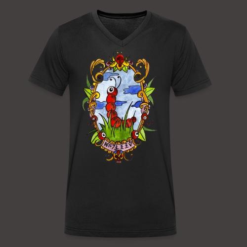 GUNILLE DU PRINTEMPS - T-shirt bio col V Stanley & Stella Homme