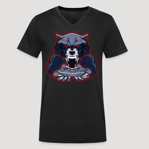 Endgegner Multigaming Clan - Männer Bio-T-Shirt mit V-Ausschnitt von Stanley & Stella