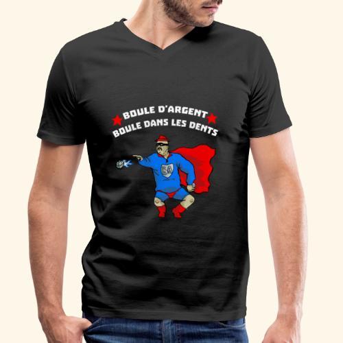 boule d' argent - T-shirt bio col V Stanley & Stella Homme