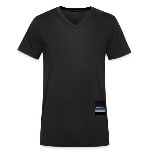 House Party - Men's Organic V-Neck T-Shirt by Stanley & Stella