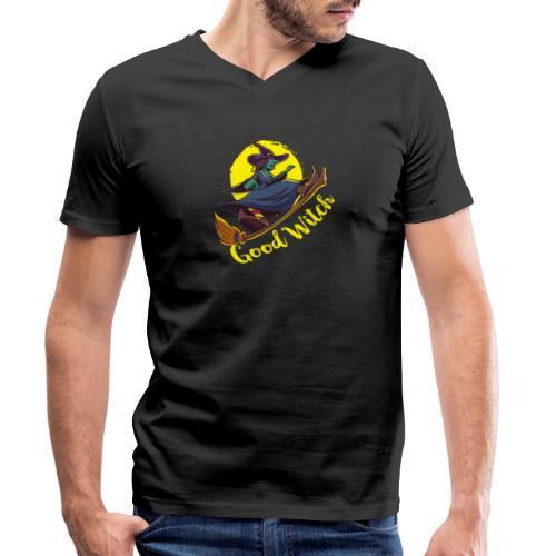 Good Witch Outfit für Hexen im Kessel brauen - Männer Bio-T-Shirt mit V-Ausschnitt von Stanley & Stella