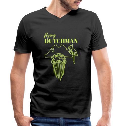 Meet the flying Dutchman ! - Männer Bio-T-Shirt mit V-Ausschnitt von Stanley & Stella