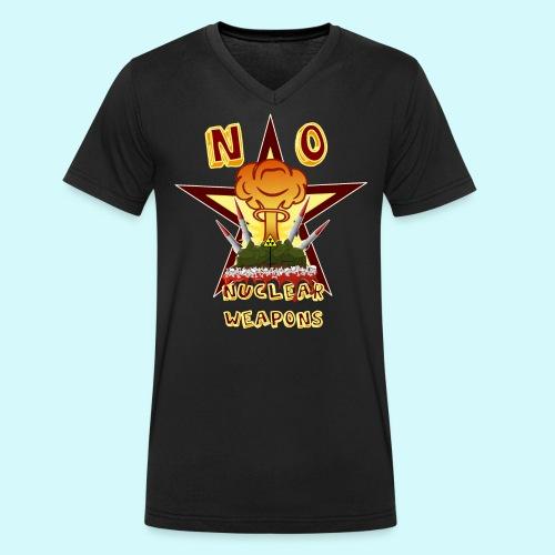 no nuclear Weapons - Keine Atomwaffen - Männer Bio-T-Shirt mit V-Ausschnitt von Stanley & Stella