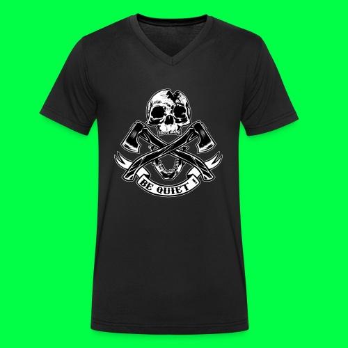 BE QUIET - T-shirt bio col V Stanley & Stella Homme