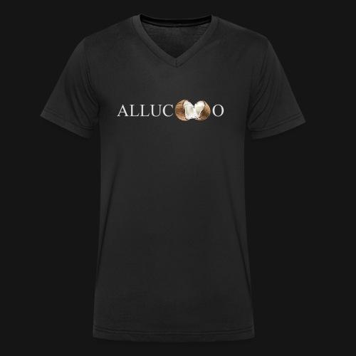 allucoco negro - Camiseta ecológica hombre con cuello de pico de Stanley & Stella