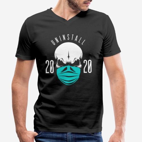 2020 deinstallieren - Männer Bio-T-Shirt mit V-Ausschnitt von Stanley & Stella