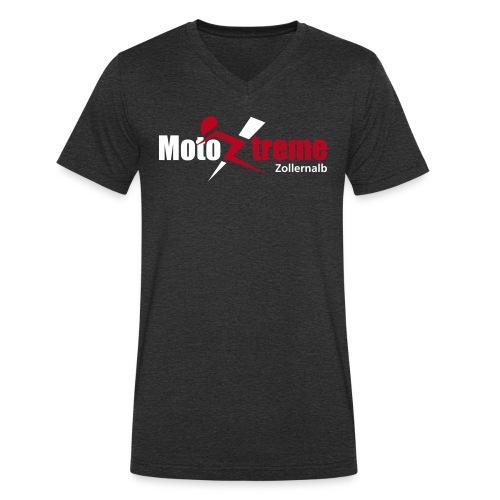 motoxtremelogo rz - Männer Bio-T-Shirt mit V-Ausschnitt von Stanley & Stella