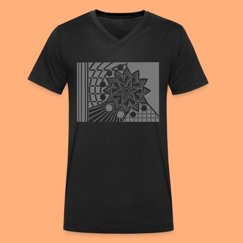 galaxie - T-shirt bio col V Stanley & Stella Homme