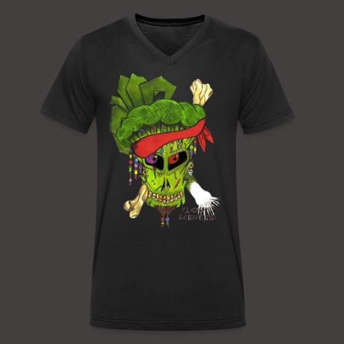 PIRATE BROCCOLI - T-shirt bio col V Stanley & Stella Homme