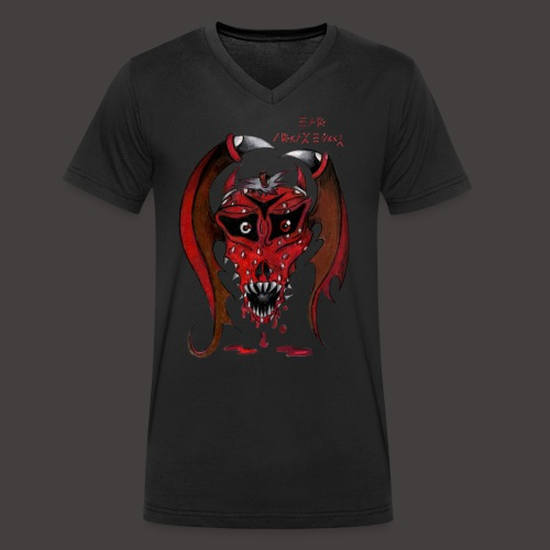 BAT STRAWBERRY - T-shirt bio col V Stanley & Stella Homme